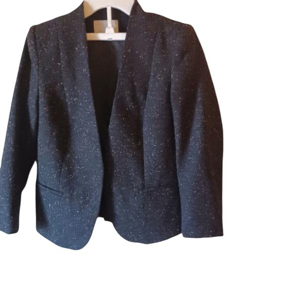 H&M Black Tweed BLAZER ,SIZE 8